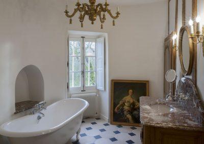 création Salle de bain, reprise mur au plâtre
