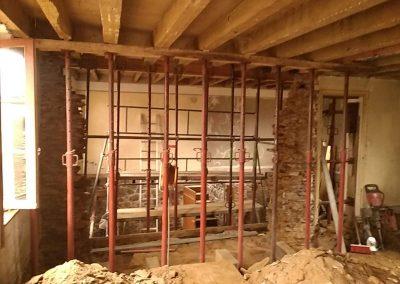 modification d ouverture sur mur porteur bm renov. Black Bedroom Furniture Sets. Home Design Ideas