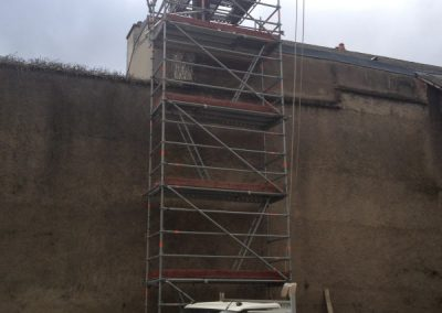 Rénovation souche de cheminée Dun le Palestel