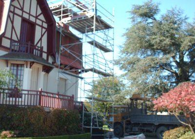 Tour échafaudage pour cheminée Fresselines